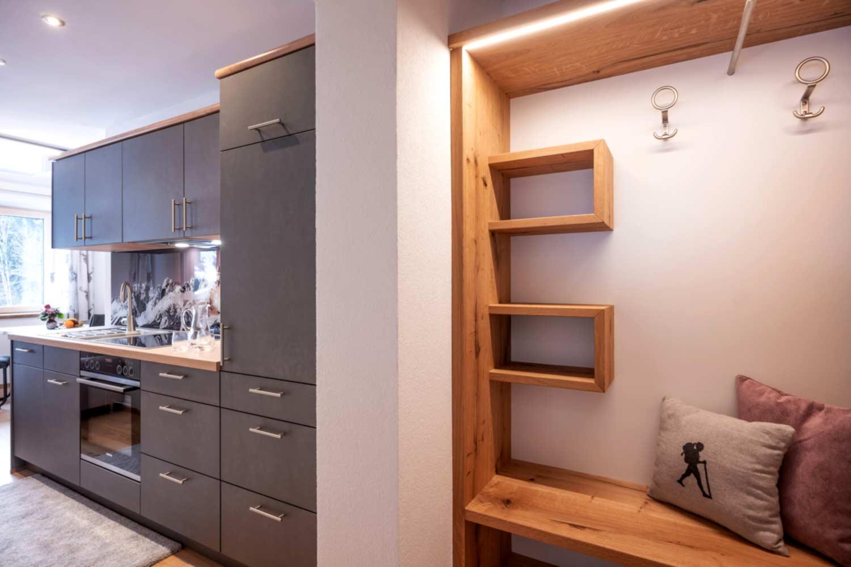 Appartement Suite Steiner Garderobe