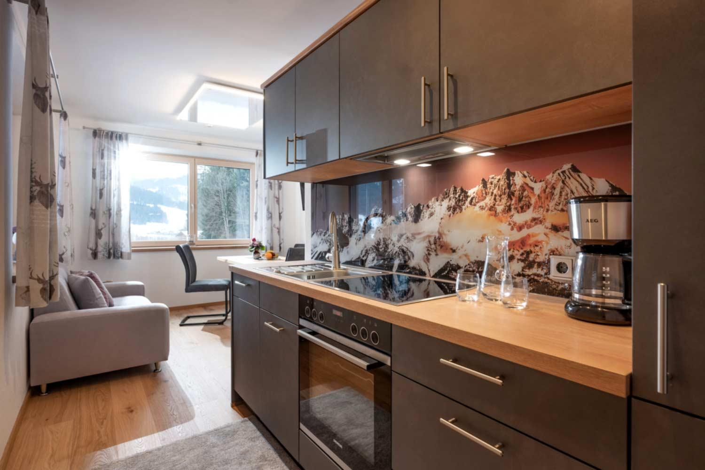 Appartement Suite Steiner Küche