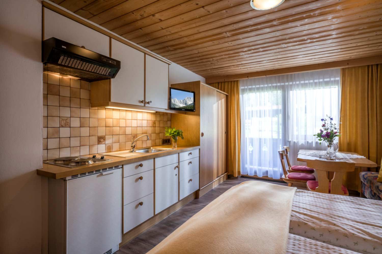 Appartement Pension Steiner Küche