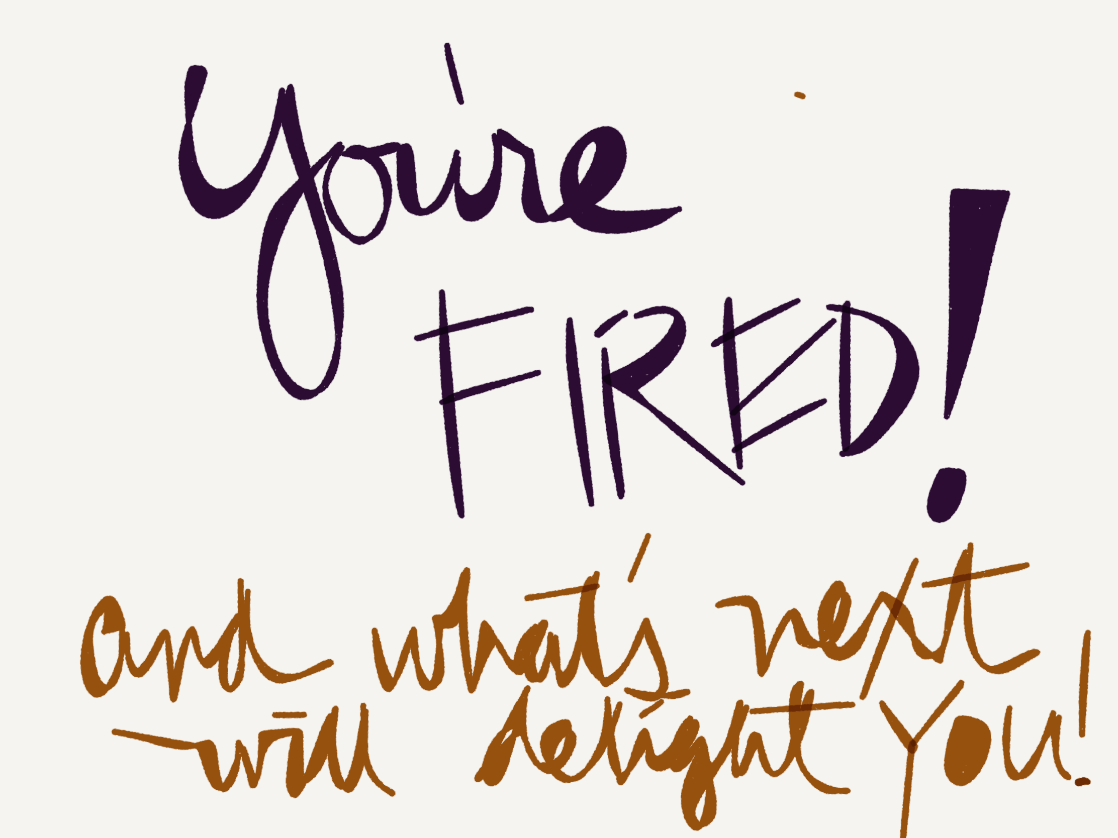 Fire Your Inner Bully and watch what magically happens.