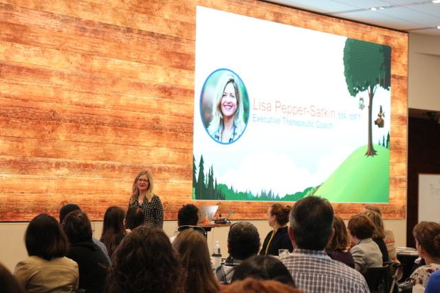 My big parenting Ah-ha during a presentation to Salesforce Executives