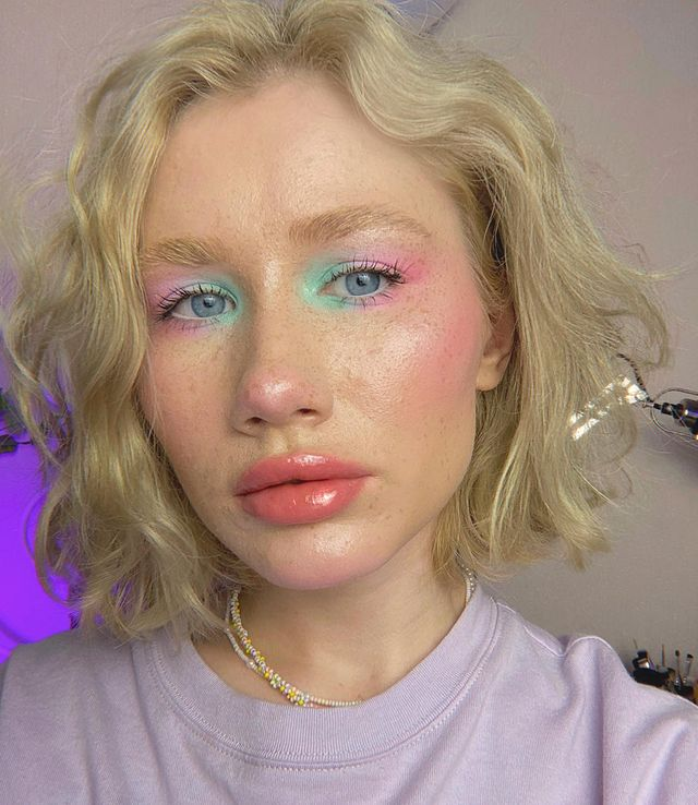 How to Wear Neon Eye Makeup as Part of Your Everyday Look