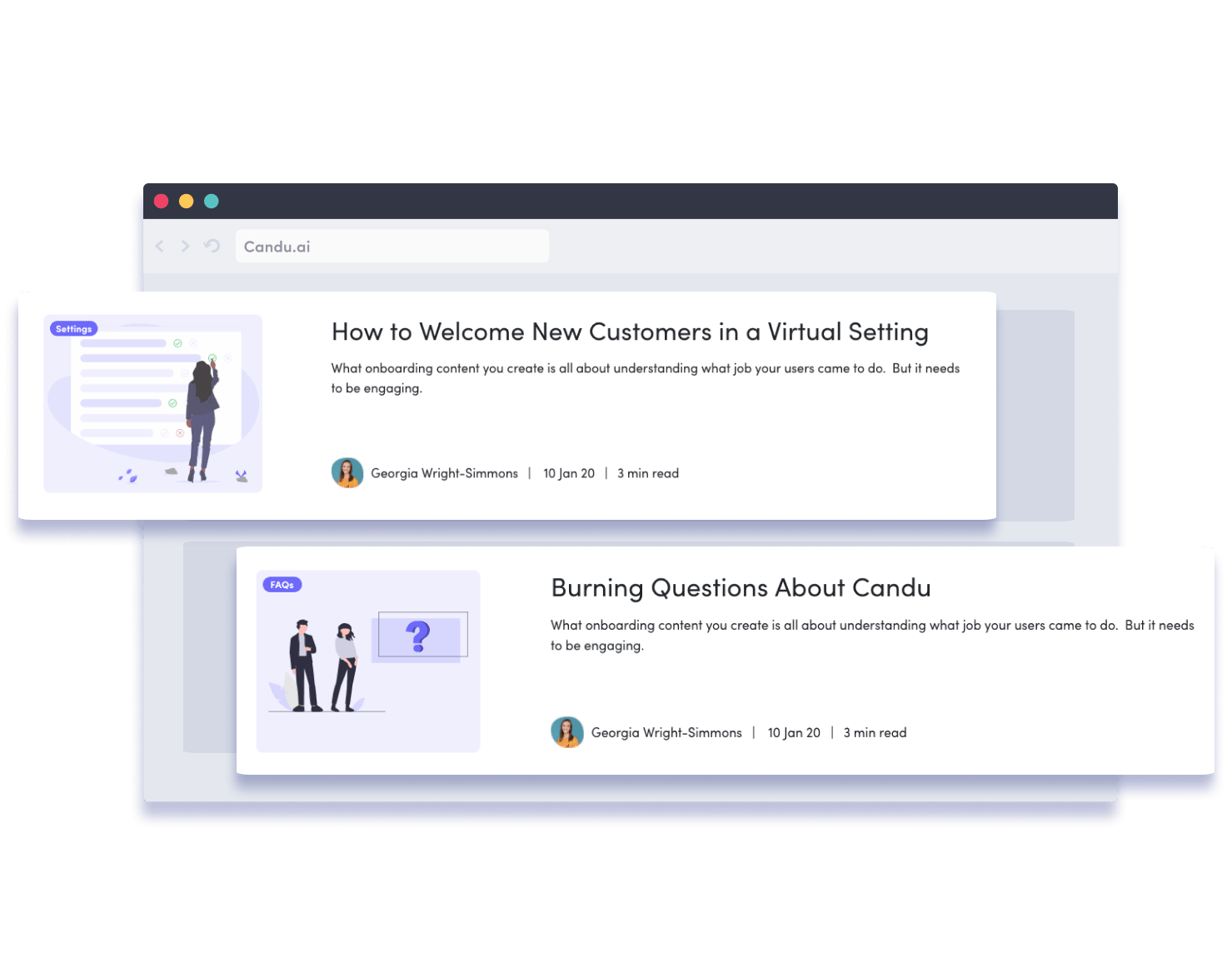 Blog UI Design