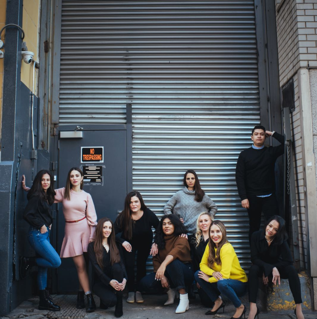 Photo of the Dental House team in outside in New York