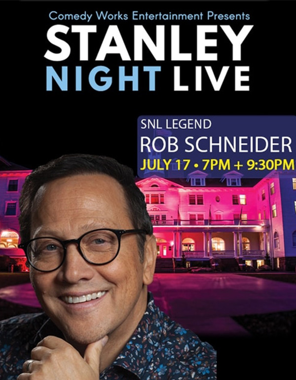 Rob Schneider at The Stanley Live