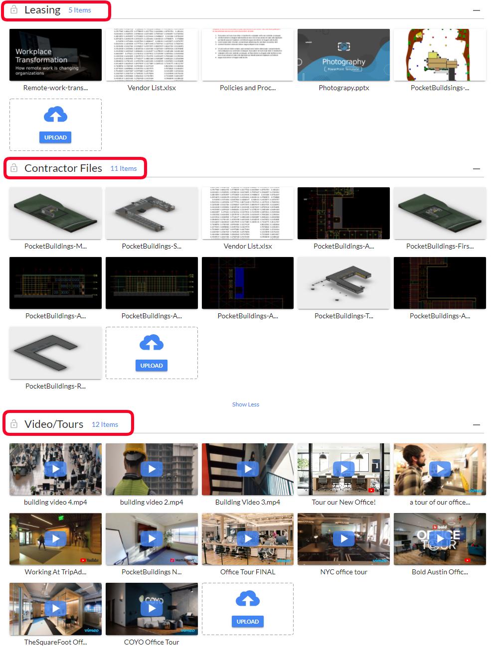 Content Bundles Organize Files & Media