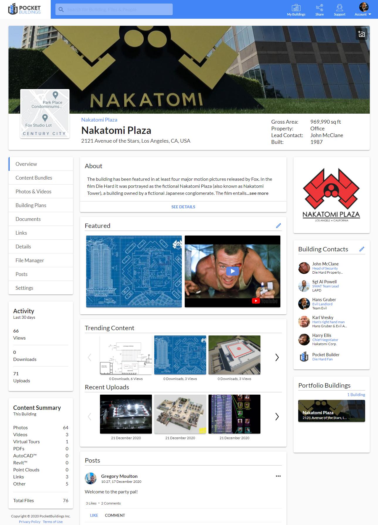 Nakatomi Plaza - A Die Hard Holiday