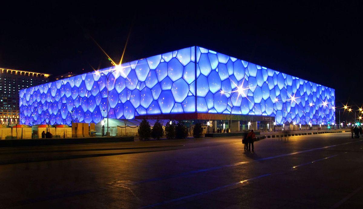 Beijing National Aquatics Center By Charlie Fong