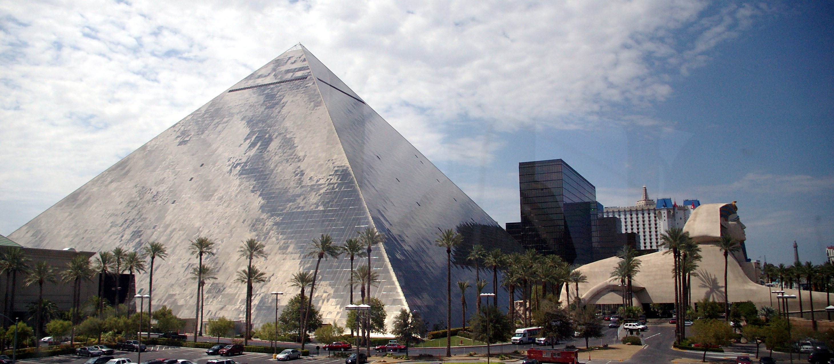 The Luxor Hotel and Casino in Las Vegas by Mark Wagner