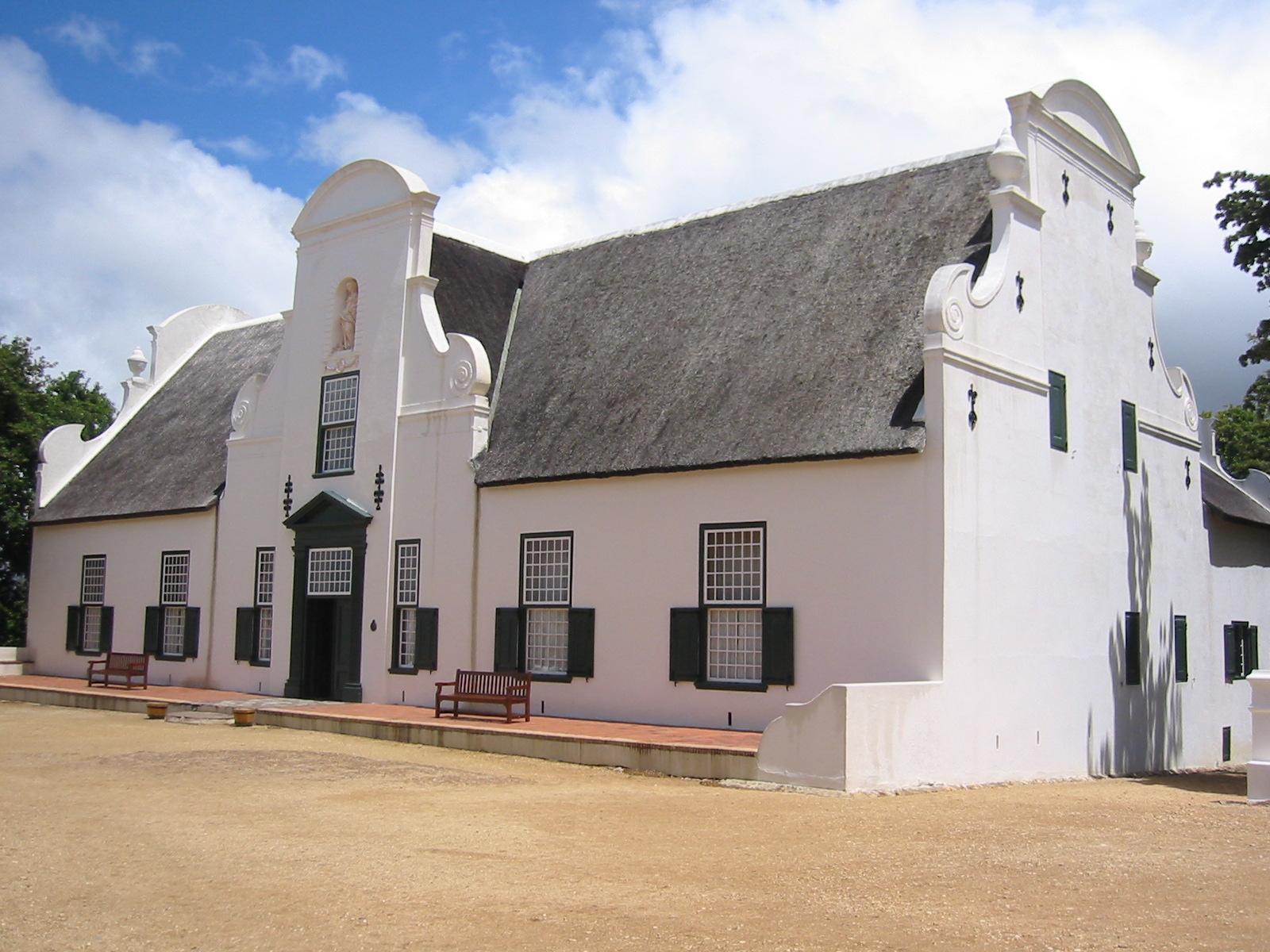Groot Constantia, an historic Cape Dutch homestead near Cape Town.