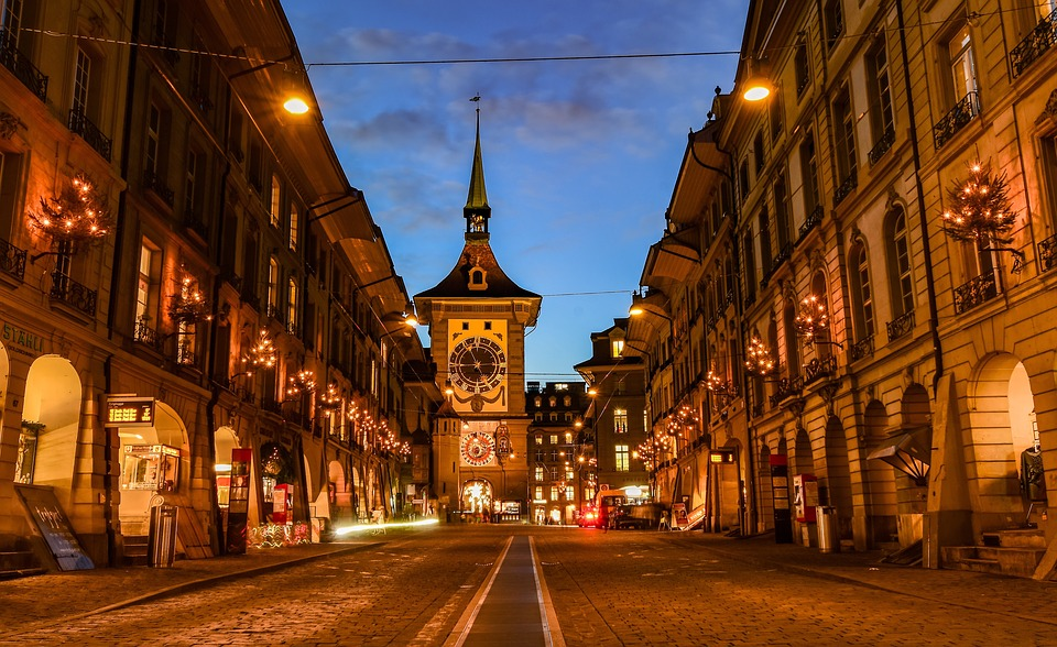 City, Street, Lights, Lighting, Urban, Road, Tower