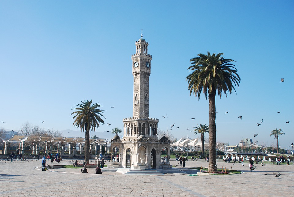 Izmir, Clock Tower, Turkey, Travel, Tourism, City