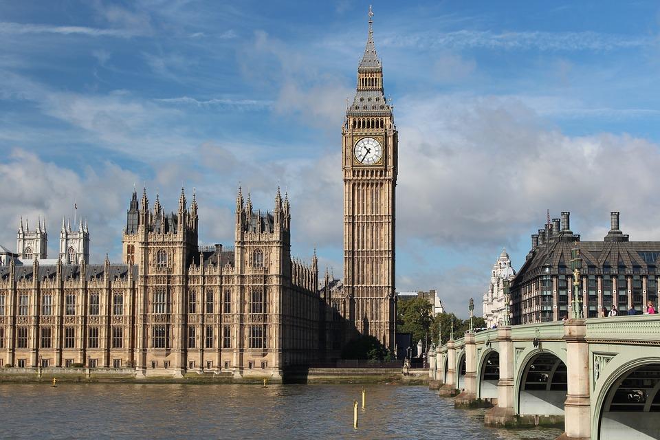Big Ben, Westminster, London, England, River Thames