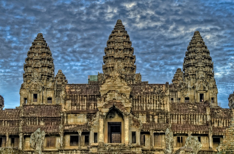 Ancient, Angkor, Angkor Wat Temples, Architecture, Asia