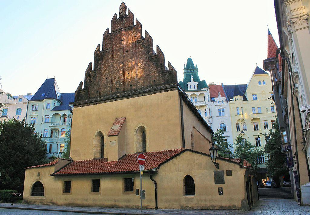 Prague Praha 2014 Holmstad Den gammelnye synagogen.JPG