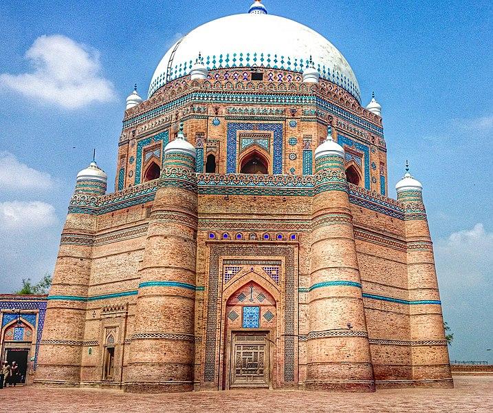 Tomb of Shah Rukn-e-Alam in Multan, Pakistan