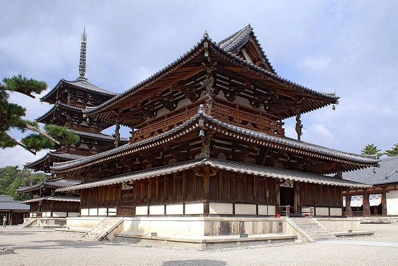 Golden Hall and Five-storied Pagoda of Hōryū-ji