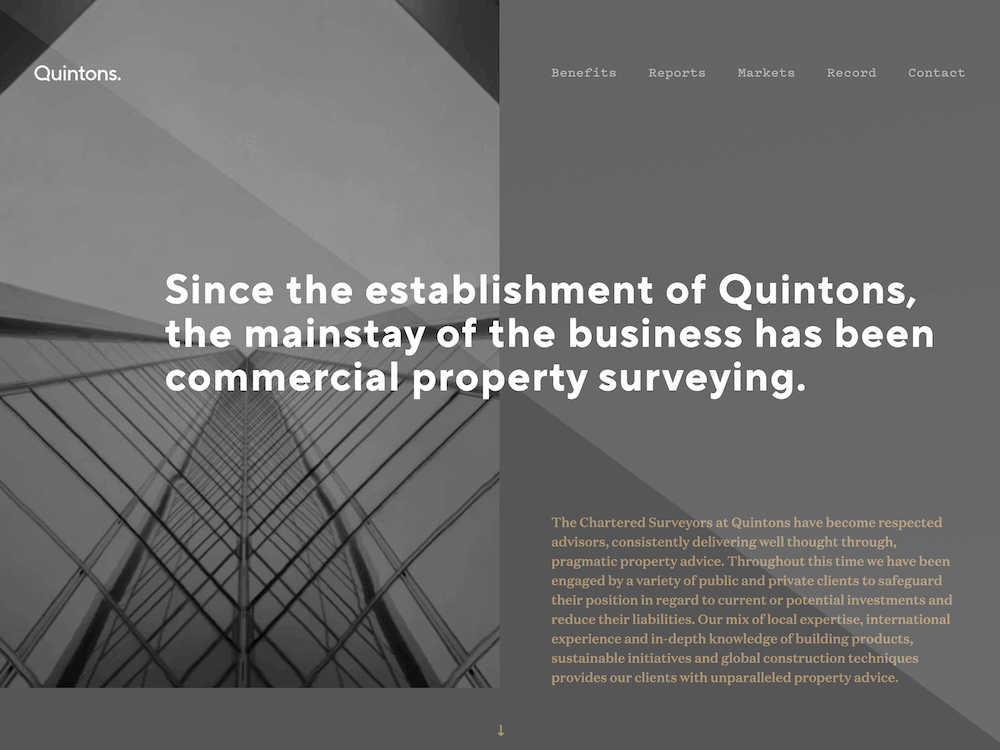 Quintons - Design and Develop by Artistry Online