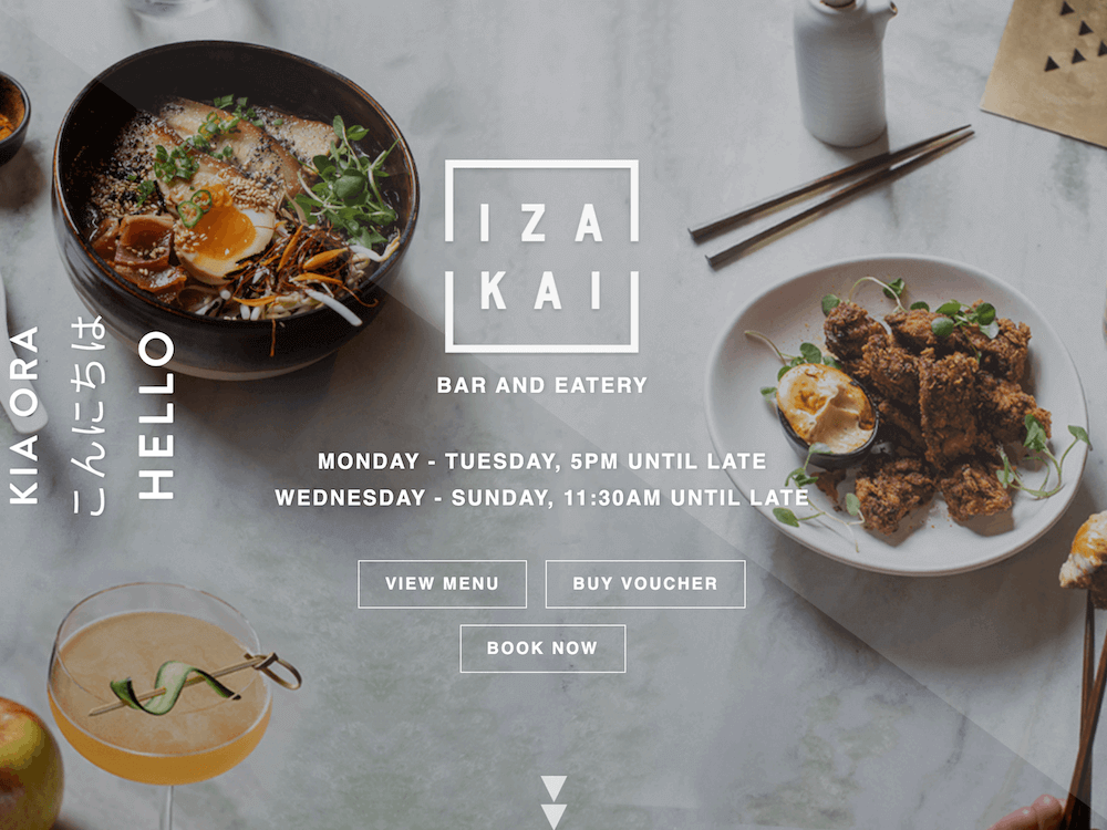 Izakai - Design and Develop by Artistry Online
