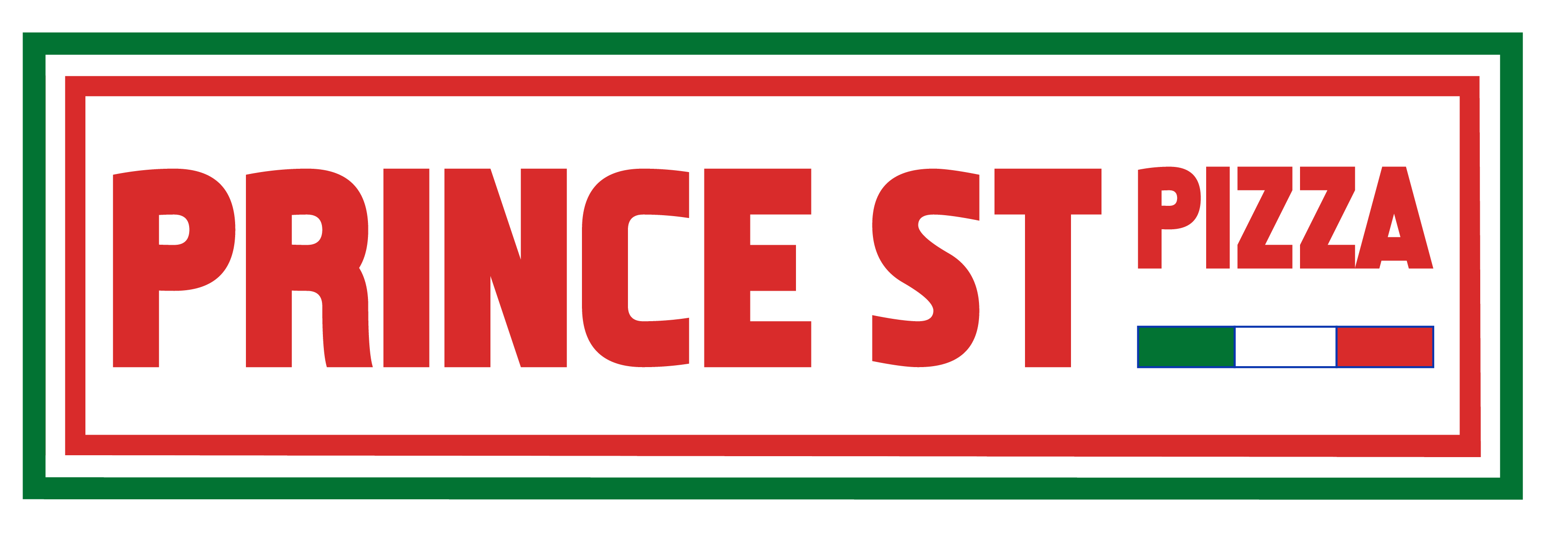 Prince St. Pizza home page