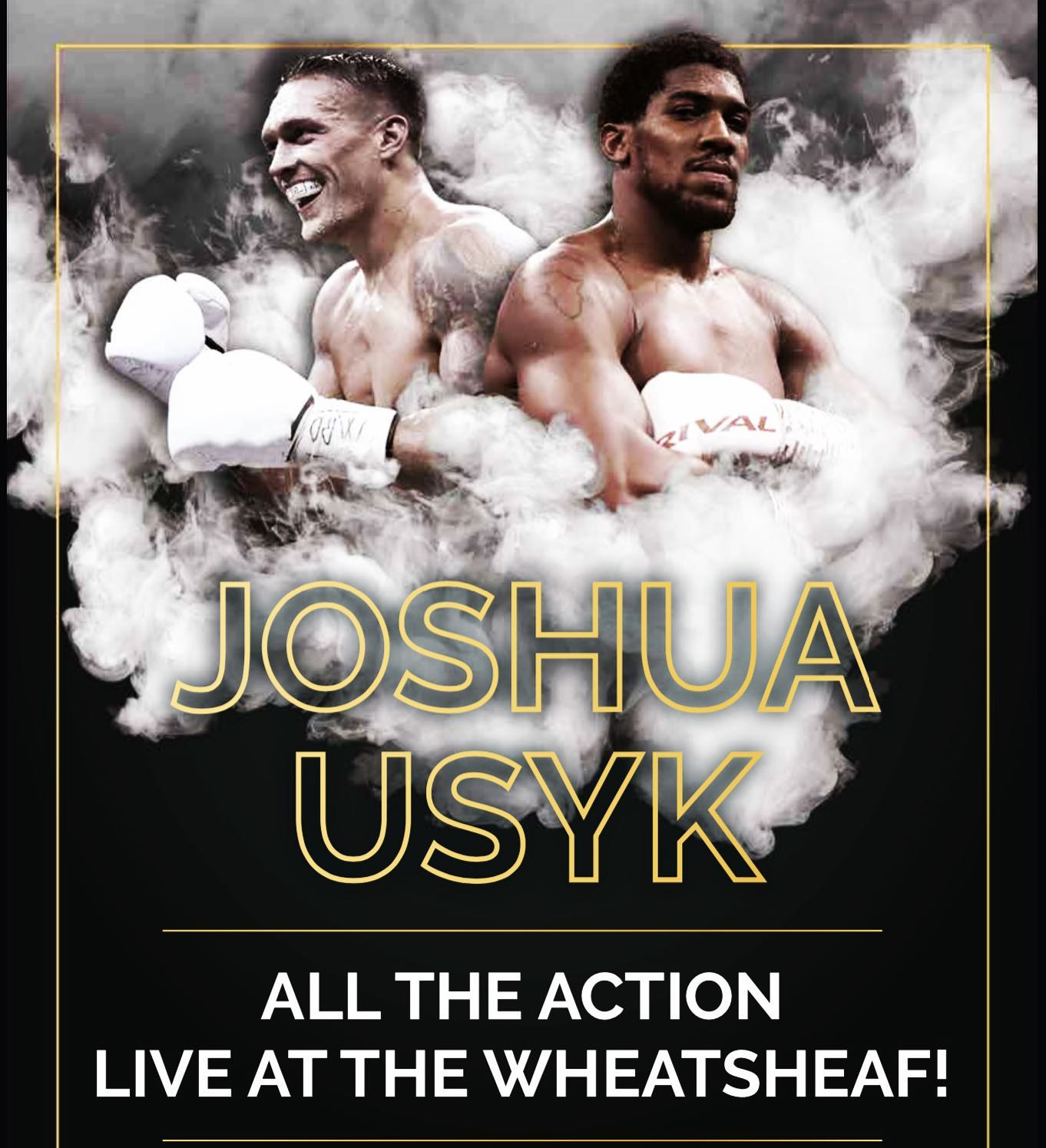 It's one week until the big fight! 🥊   The unified heavyweight champion of the world Anthony Joshua takes on the undefeated Oleksandr Usyk!   We'll be showing the fight in our private room and it's a ticket only event!   Tickets are £25 and include a seat with a view of the fight and a £20 tab for food and drinks  Tickets are limited to seats so early booking is recommended to avoid disappointment  Link to book in Bio  #AJ #Boxing #tooting #TootingBec #FightNight #DingDing #Ring #Pub #Sport #Beer #Burger #Pizza #BoxOffice #Wheatsheaf #SW17 #Live #GlovesOn #booking