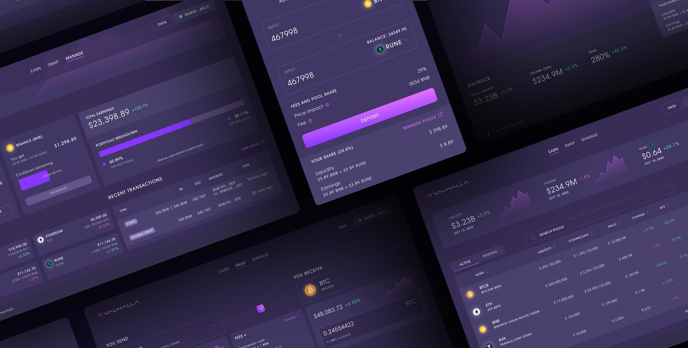 Valhalla Design system preview