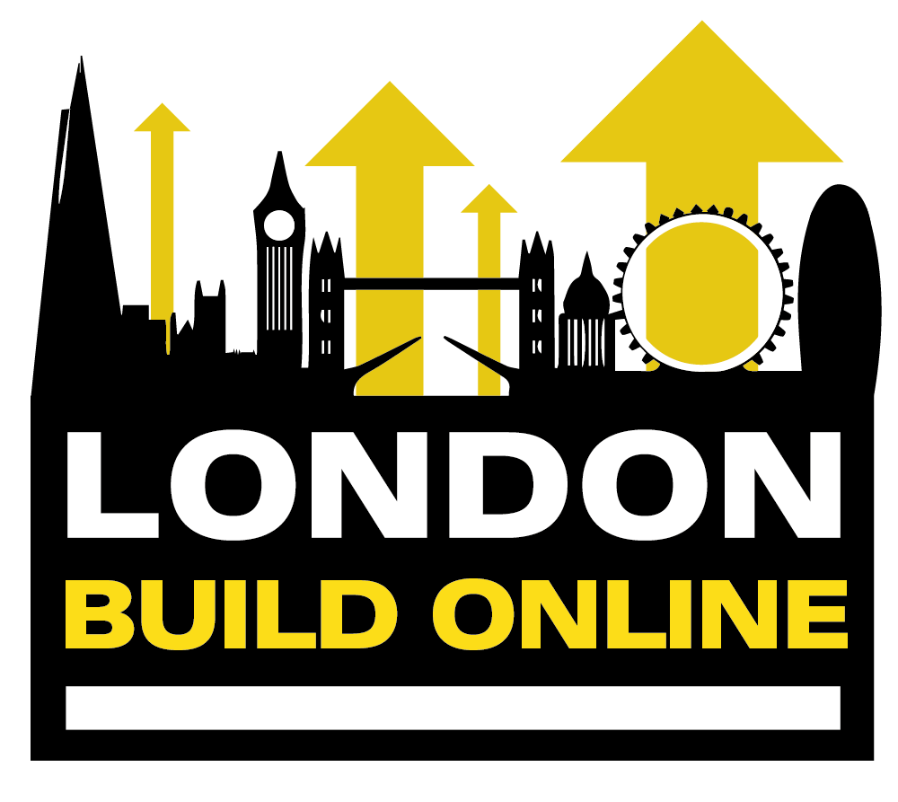 London Build Online Expo event logo