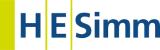 HE Simm logo