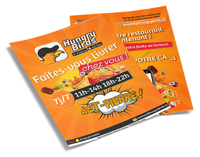 Flyers Hungry Birds
