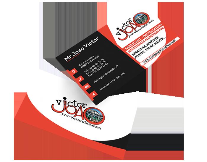 Carte de visite JVV Vérandas
