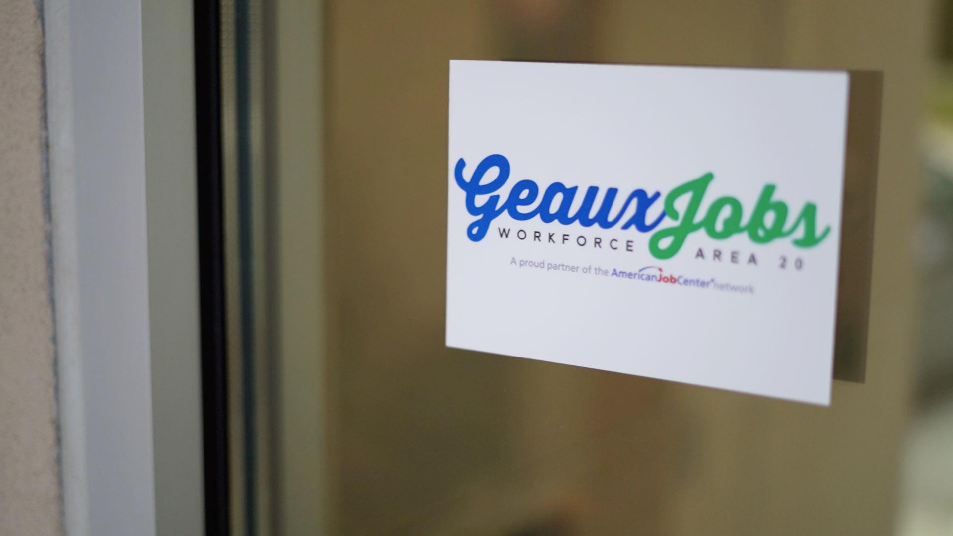 Geaux Jobs door entrance