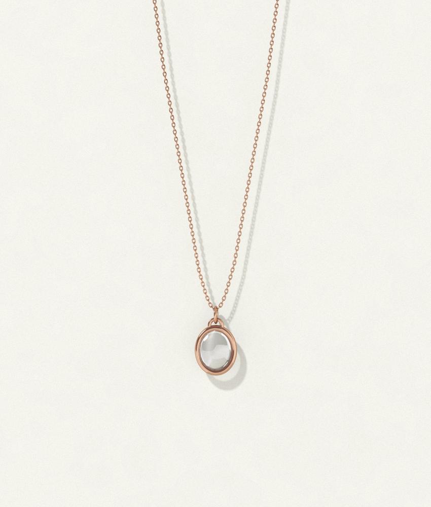 Shine Necklace Bronze