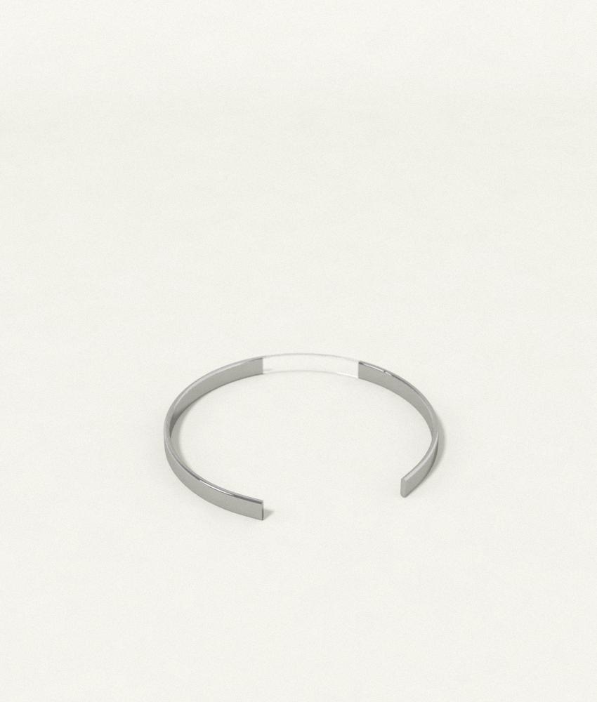 Single Band Silver Bracelet