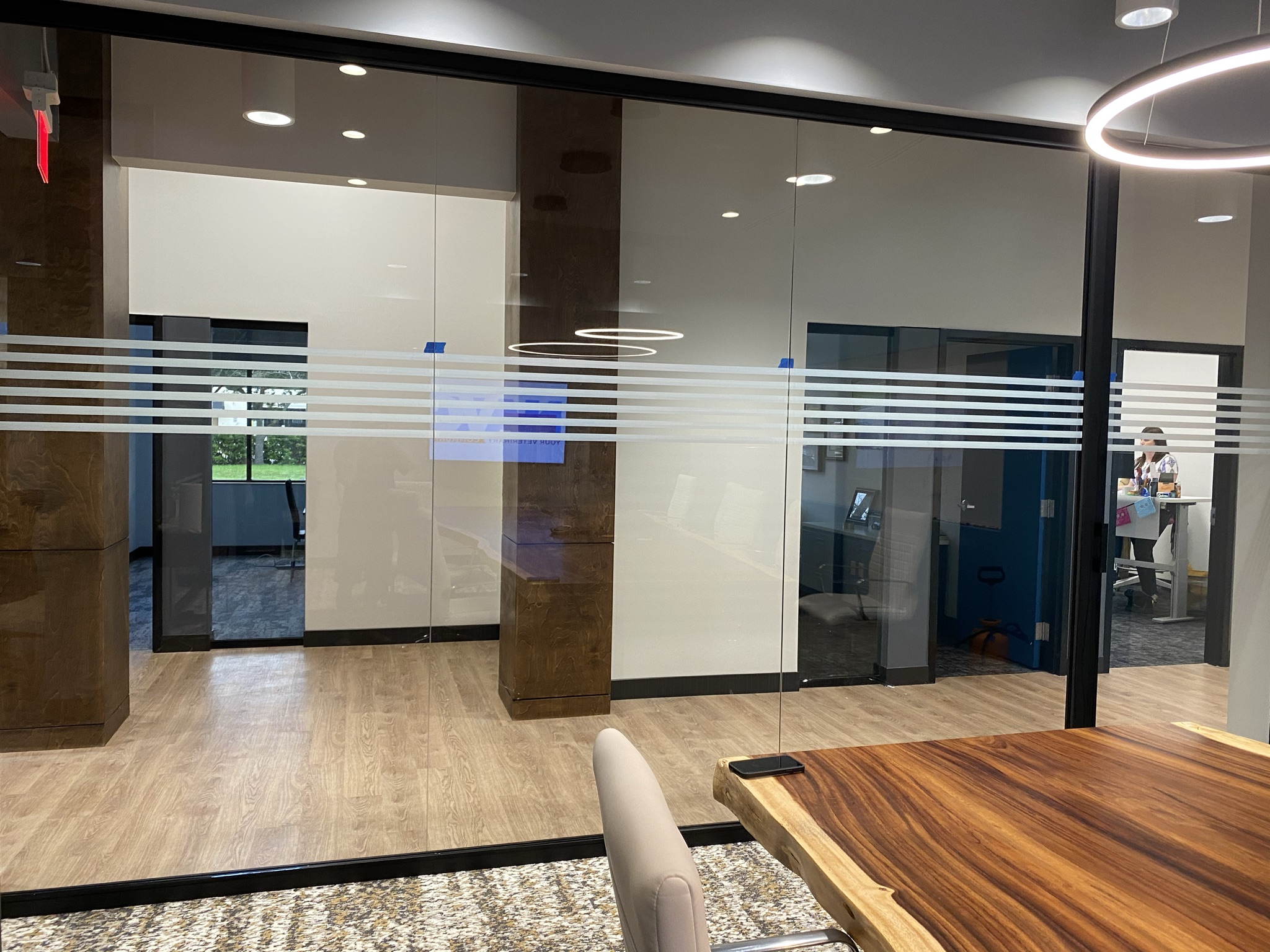 3M Decorative Window Film installed by Tint By Masters