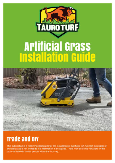 Tauro Turf brochure front page