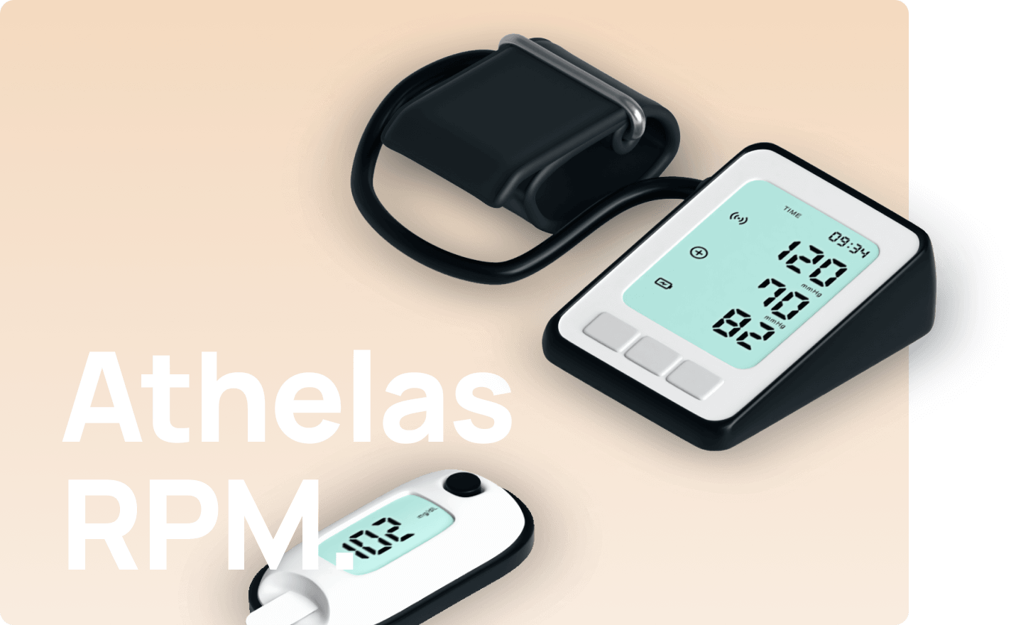 SIM-Connected Blood Pressure monitor & Weight Scale