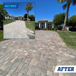 Before and after client picture #1