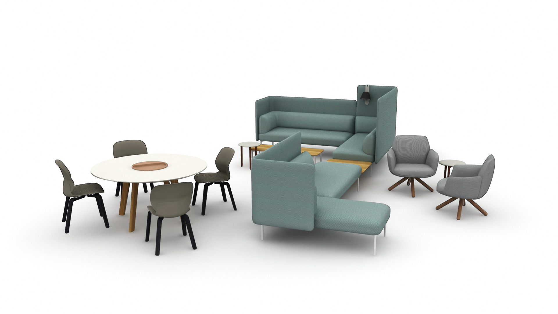 Seating: Haworth Poppy Lounge
