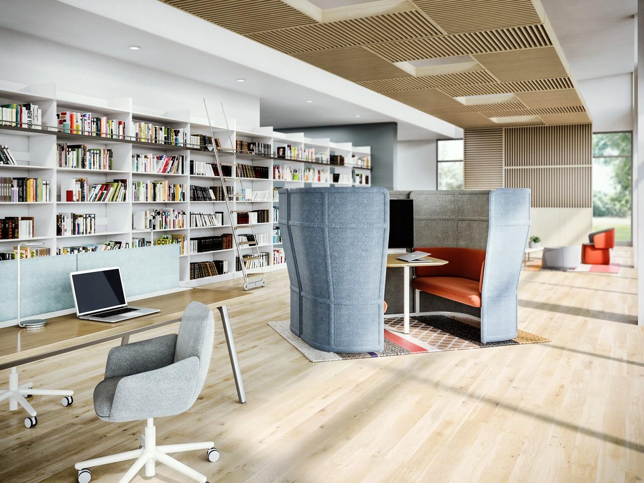 Architectural Interiors: Haworth Openest Plume