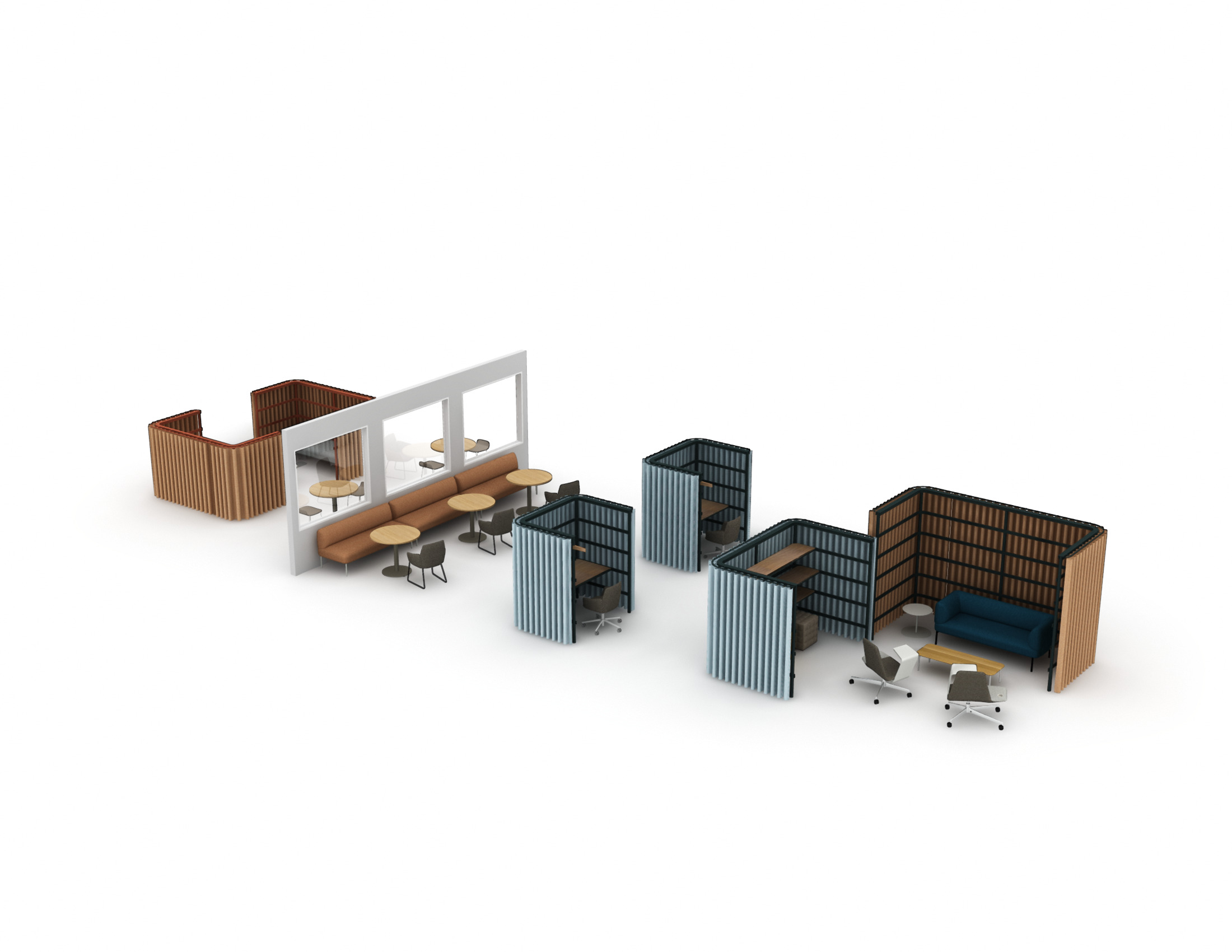 Architectural Interiors: BuzziSpace BuzziBracks