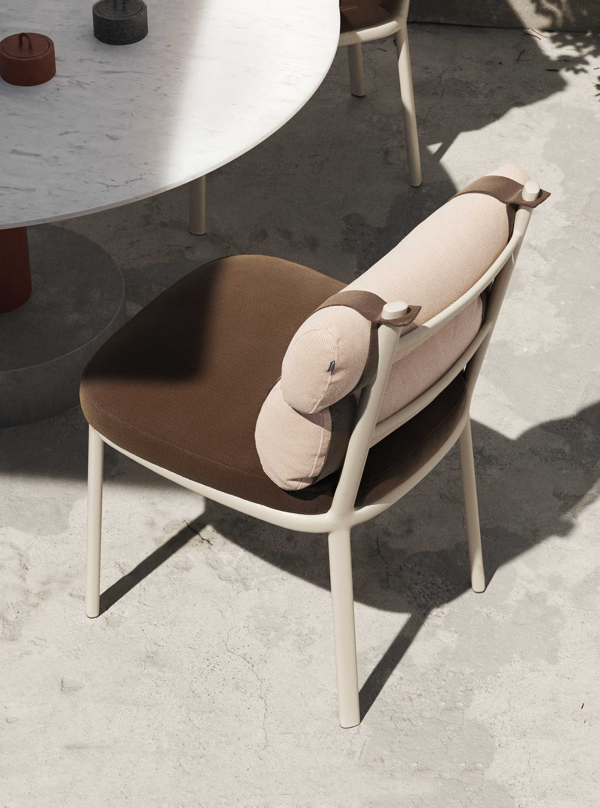 Outdoor: Kettal Roll Dining Chair