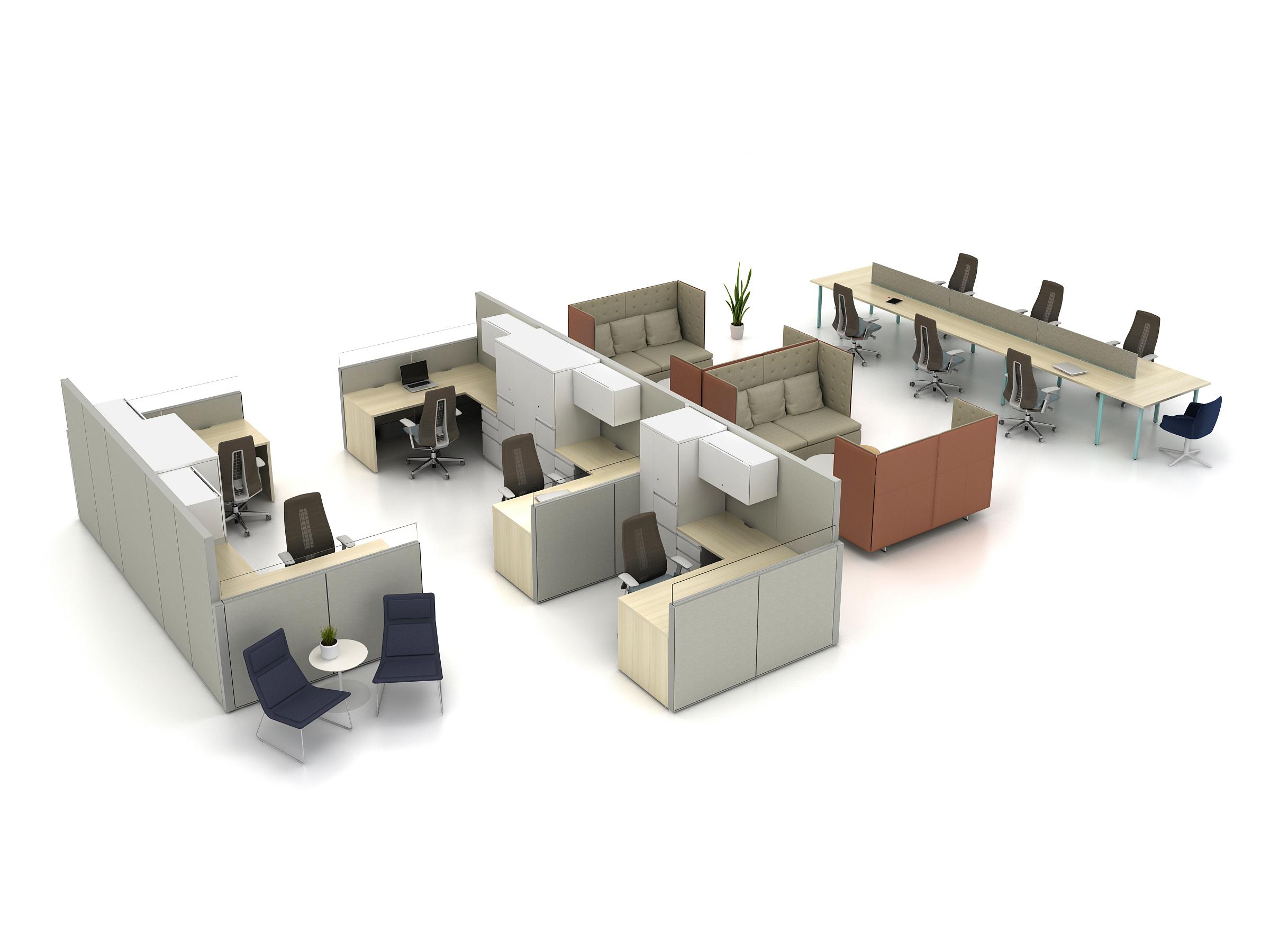 Social Spaces: Haworth Collection GranTorino