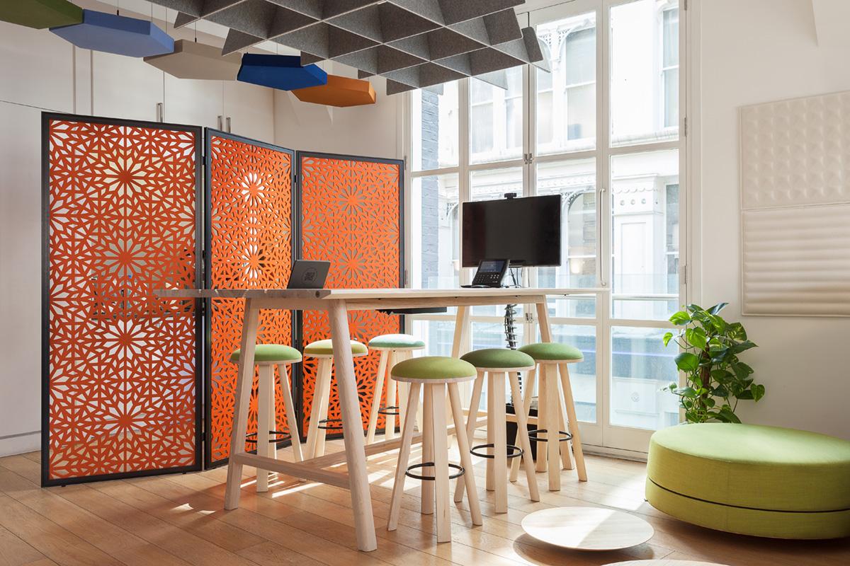 Social Spaces: BuzziSpace BuzziFalls Standing