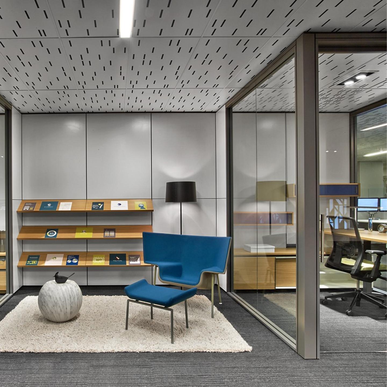 Architectural Interiors: Haworth Enclose Framless