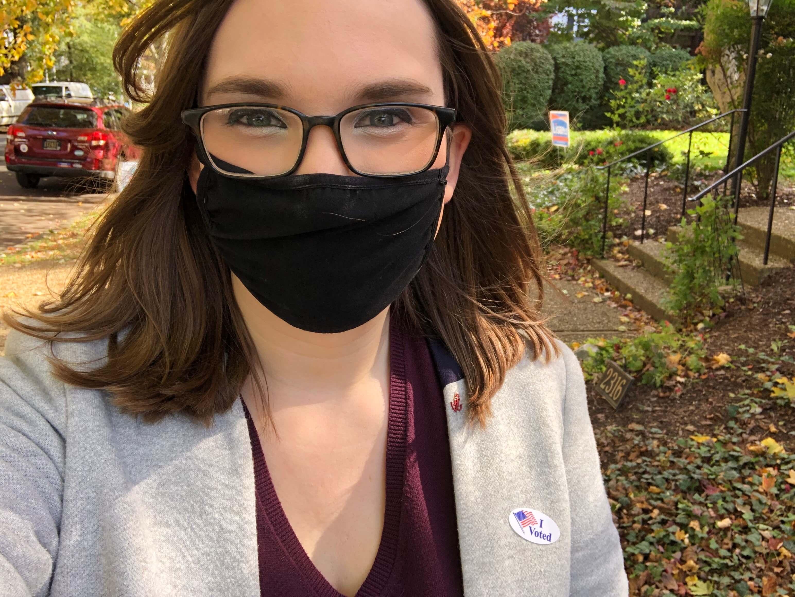 Sarah McBride on Election Day