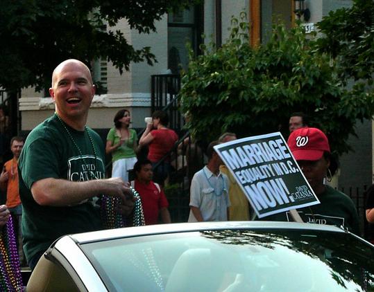 David Catania at a Capital Pride celebration
