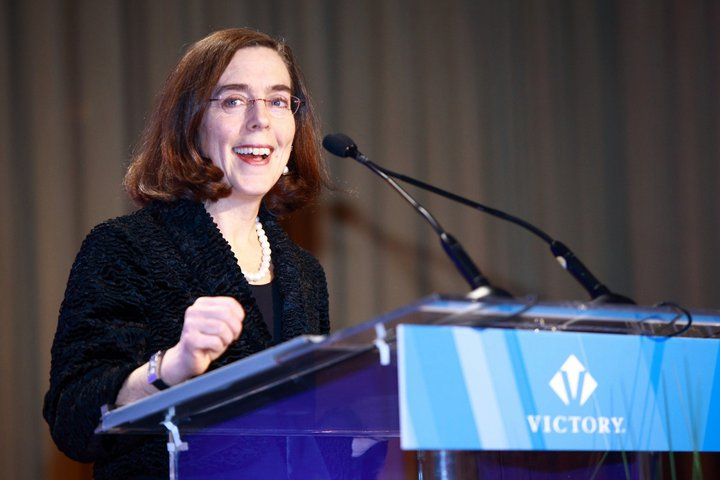 Secretary of State Kate Brown at the 2011 Victory Fund National Brunch.