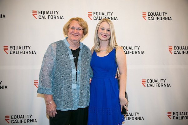 Palm Springs Council Members Lisa Middleton and Christy Holstege. Courtesy of Equality California.