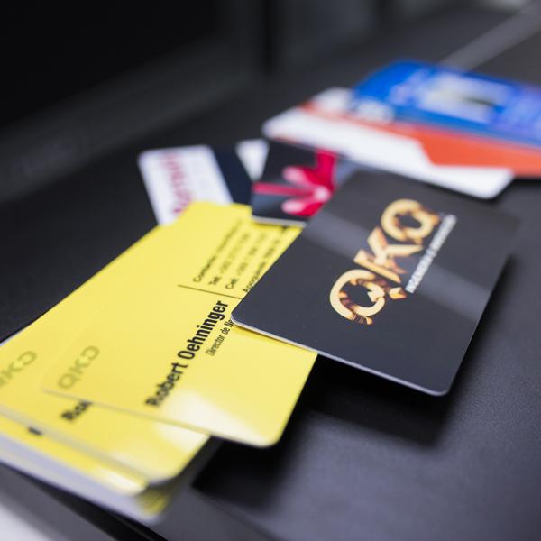 tarjetas credenciales