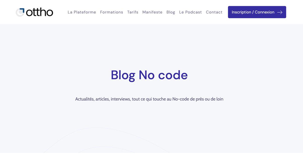 Blog Ottho